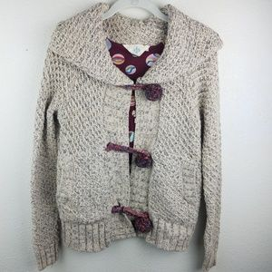 HWR | ANTHROPOLOGIE Thick Knit Sweater